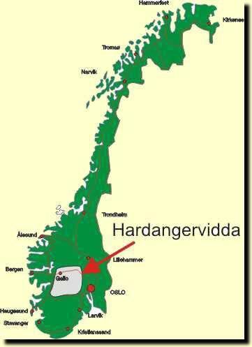Vandringsleder norge karta